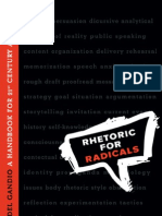 Rhetoric for Radicals