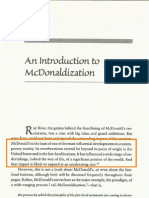 Online dating McDonaldization
