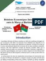 les Relations Economiques Internationales