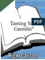 Taming your gremlin - Rick Carson ITA