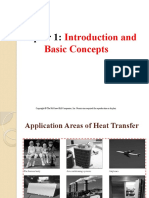 Heat Transfer Topic 1 - Introduction and Basic Concepts