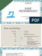 Unit 1 Food Microbiology