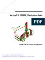 Version 5.10 CAESAR II Applications Guide
