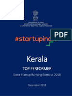 Startup India - State report_Kerala