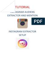 TUTORIAL Instagram