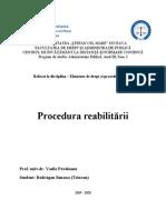 Elemente de drept și procedură penală
