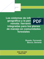 Los Sistemas de Información Geográfica y La Percepción Remota