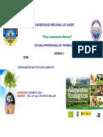 CLASE 3. COMPONENTES BIOACTIVOS DE ALIMENTOS (1)