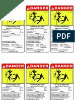 EU2 Bus Label