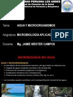 1.- Agua y Microorgansimos