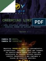 CREENCIAS LIMITANTES - MENTE FITNESS CUERPO FITNESS tema 1 CLASSROOM 1