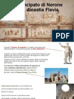 Il Principato di Nerone e la dinastia Flavia