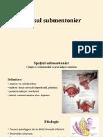 Abces submentonier