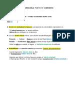 An I LSC Condicional compuesto y  Correspondencia Indicativo