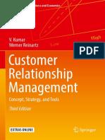 Customer Relationship Management - Chapter 1