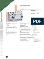 CT - Interruptores diferenciais modulares NIP - BPC