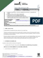 Actividad 2 Lengua Castellana grando undécimo J.T (Resuelta)