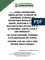 FESTA ROSÁRIO