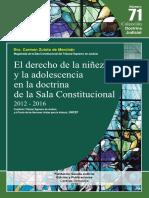 EL DERECHO DE LA NIÑEZ Y LA ADOLESCENCIA