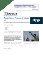 Trafigura Toxic Waste Independent