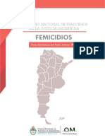 Registro Nacional de Femicidios de la Justicia Argentina