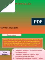 Liqo' Tgl 21 Juli -2013