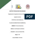 Enríquez de la Barrera José UNIDAD V Toma de Decisiones