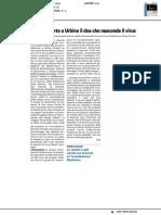 Aids, scoperto a Urbino il DNA dove si nasconde il virus - Il Resto del Carlino del 30 maggio 2020