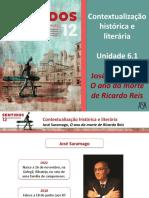 Contextualização Histórica e Literária (José Saramago)