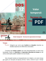 Valor temporal - formas de expressão do tempo.ppt