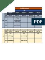 Agenda de treinamentos Abril 2020