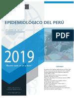 BOLETIN EPIDEMIOLOGICO EN EL PERU 2019