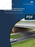 Standard - TRL-PPR-376 - Non-U4 bridge deck waterproofing
