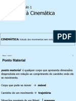Física 1 - Cap. 1 - Cinemática.ppt