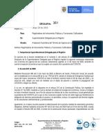 Circular No. 361 Mayo 29 de 2020 LICENCIAS URBANISTICAS