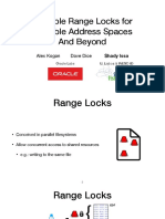 Scalable Range Locks for Scalable Address Spaces and Beyond
