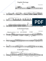 English Heritage & Dowland Suite Extracts - Bass Clef