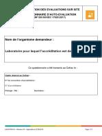 LAB-FORM-03-(2017) Questionnaire auto evaluation