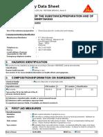 Safety Data Sheet SikaBond NV