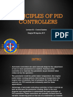 Lecture II - Principles of PID Controllers