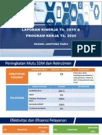 EVALUASI PROGRAM RJP 2019