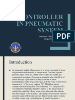 Lecture VI - PID Controller in Pneumatic System (Use Case)