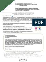 7. ESPAÑOL. JUNIO 1 A 5. contexto comunicativo