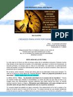 4. DIA CUATRO - CREADOS PARA VIVIR POR SIEMPRE