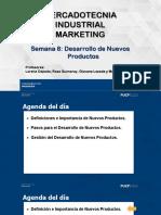 Sesión 8 - Desarrollo de Nuevos Productos