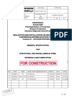 S-3000-3130-001_0-General specification for steel structure and miscellenous materials