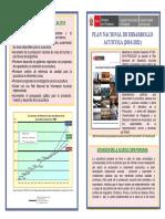PLAN NACIONA DE DESARROLLO ACUICOLA (PNDA) 2010-2021
