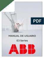 Manual E3 Series PGGI