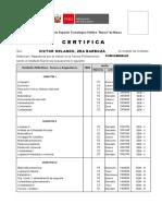 Certificado para Zea Barboza-Contabilidad