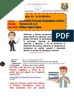 Guía de Actividades N° 8 DPCC 3°grado ok